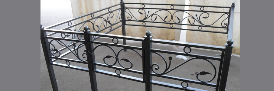 оградки для могил